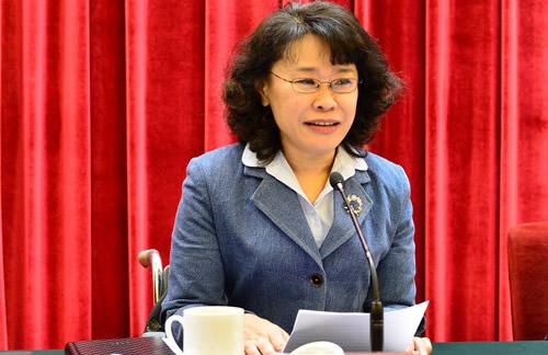 中国残联主席张海迪的发言