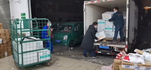 再接再厉,中国残疾人福利基金会携手爱心团队持续向湖北疫区送去医疗物资